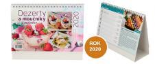 Kalendář 2020 Dezerty a moučníky 22 x 17 cm