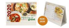 Kalendář 2020 Polévka je grunt 22 x 17 cm