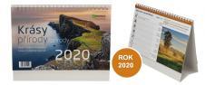 Kalendář 2020 Krásy přírody 22 x 17 cm