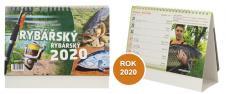 Kalendář 2020 Rybářský 22 x 17 cm