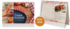 Kalendář 2020 Česká Kuchyně 22 x 17 cm