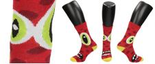 Ponožky Zelené oči a crazy pusa