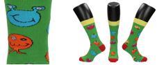 Ponožky se zábavnými obličeji