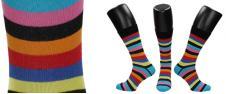 Ponožky multi pruhované