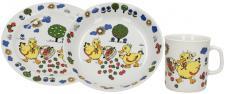 Sada dětského porcelánového nádobí