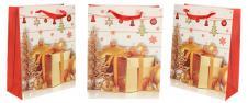 Dárková vánoční taška dárek 23x18 cm