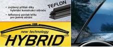 Stěrač FLAT Hybrid POWER+