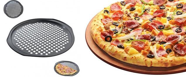 Plech na pečení domácí pizzy