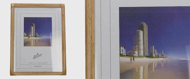 Fotorámeček dřevěný - 30,4 cm x 40,5 cm