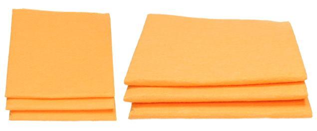 Hadr na podlahu Oranžový