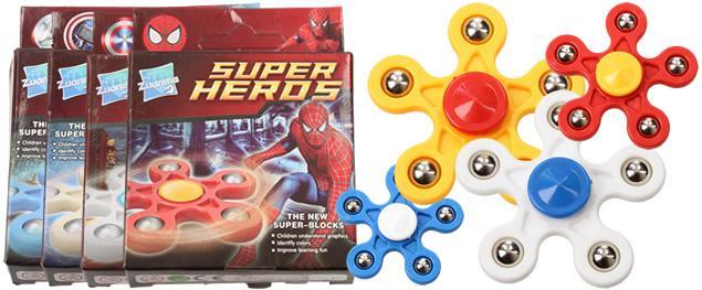 Fidget spinner Super Heros