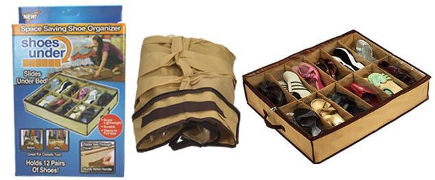 Organizér na boty na 12 párů bot