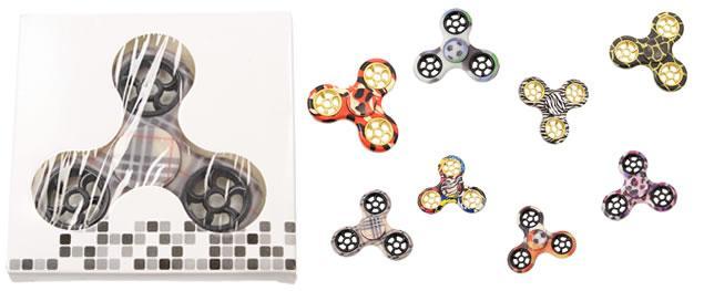 Fidget spinner vzorovaný