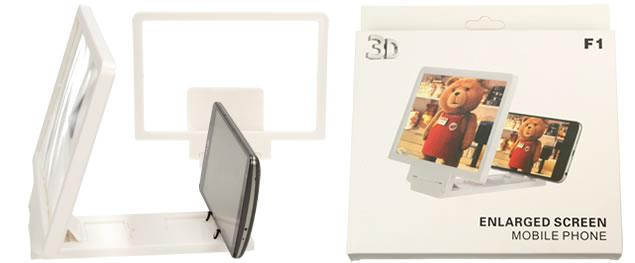 Zvětšovací lupa se stojánkem na telefon 8,5 palců