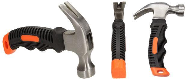 Tesařské malé kladivo s ergonomickou rukojetí