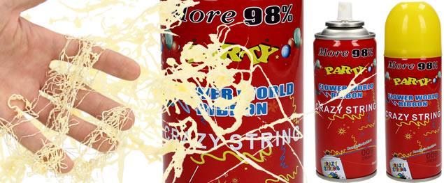 Párty sprej Crazy string 280 ml