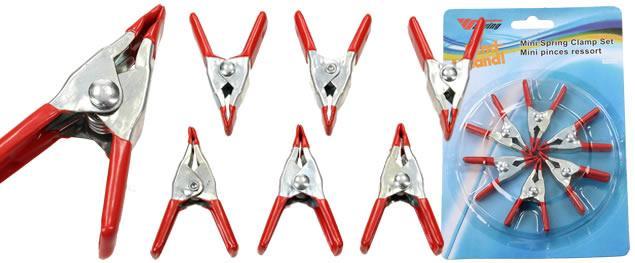 Mini klip - kovová klipsna 6 kusů 5 cm