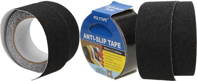 Protiskluzová černá páska 5 cm x 5 m