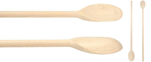Dlouhá dřevěná vařečka 80 cm