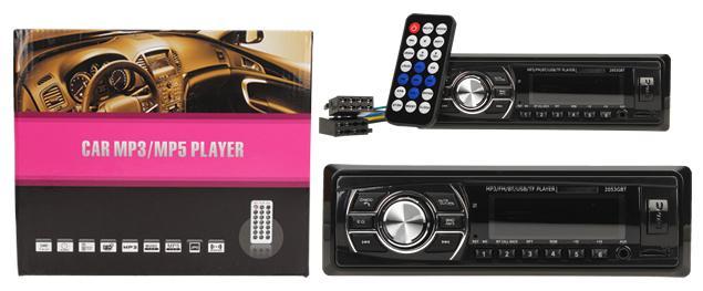 Autorádio s Bluetooth a MP3 přehrávačem 2053 GBT