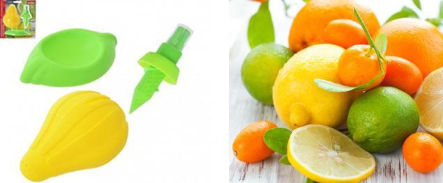 Odšťavňovač citrusů s rozprašovačem