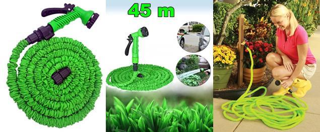 Smršťovací zahradní hadice 45 metrů