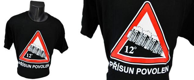 Tričko přísun povolen