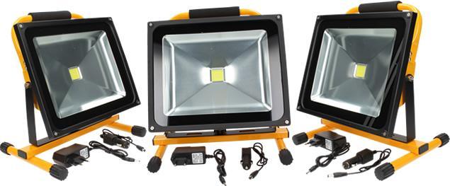Přenosný nabíjecí LED reflektor 50W