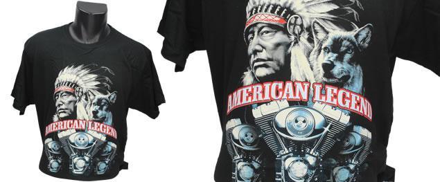 Tričko indián American Legend