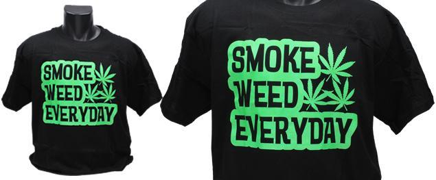 Tričko Smoke weed everyday