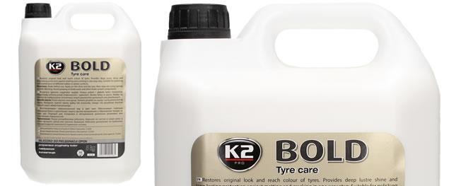 K2 BOLD 5 l - prostředek na ošetření pneumatik