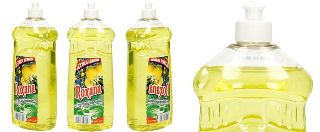 Roxana tekutý prostředek na nádobí 1 L citron