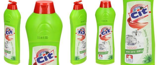 CIT Jemný tekutý písek 600 g Aloe Vera
