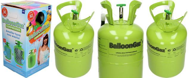 Ballongaz balónkové helium