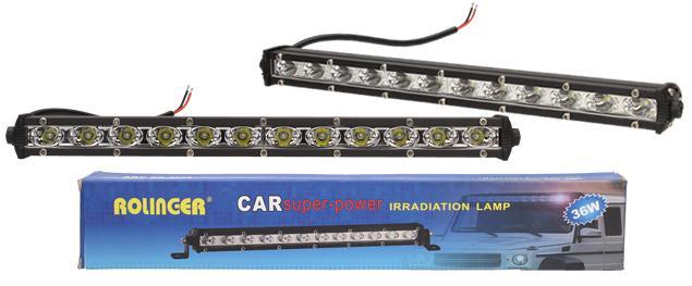 Doplňková lampa na auto Rolinger 36W 24V
